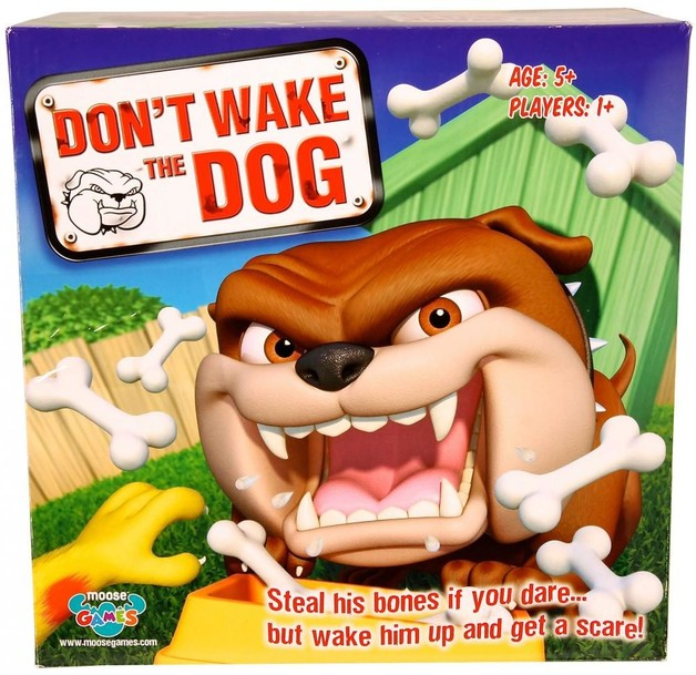 Don't Wake the Dog - Children's Game