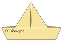 It (2017): SS Georgie - Enamel Pin image