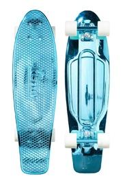"""Penny: Metallic Skateboard - Blue (27"""")"""