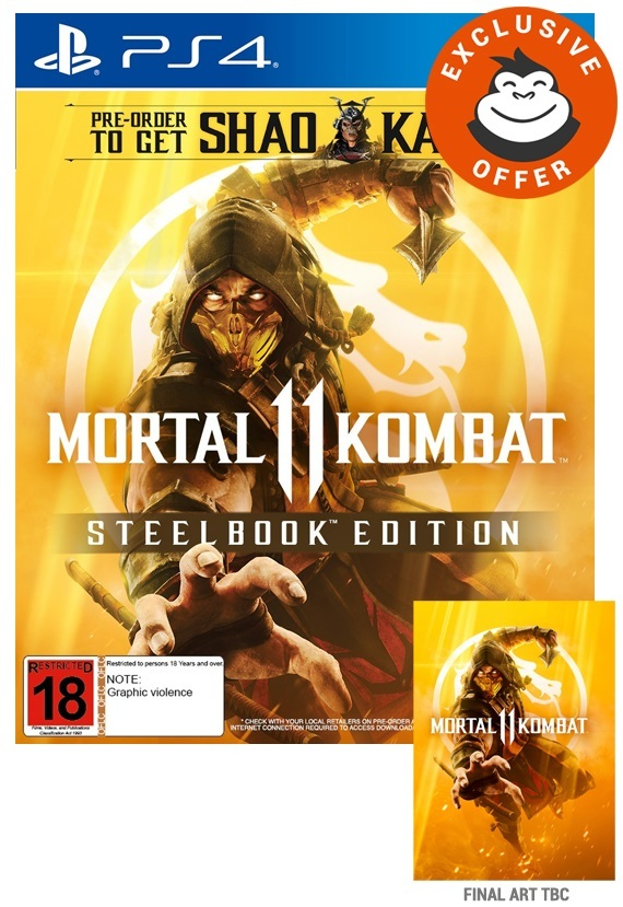 Mortal Kombat 11 Steelbook Edition