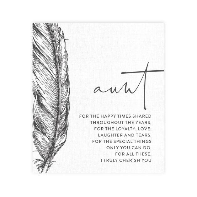 Splosh: Tranquil Aunt Verse