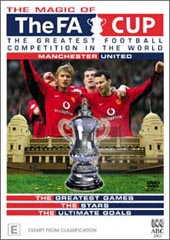 Magic Of The FA Cup - Manchester United on DVD