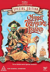 Muppet Treasure Island Special Edition on DVD