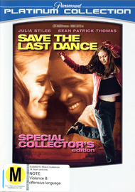 Save The Last Dance - Special Collector's Edition on DVD image