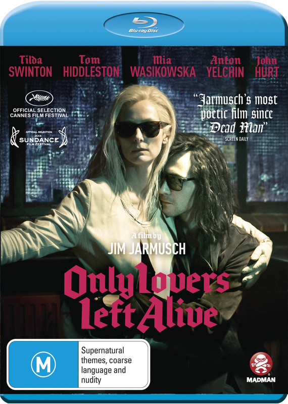 Only Lovers Left Alive on Blu-ray