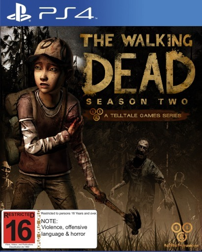 the walking dead season two ps4 buy now at mighty. Black Bedroom Furniture Sets. Home Design Ideas