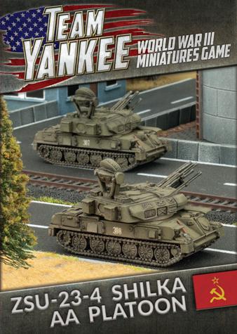Flames of War: ZSU 23-4 Shilka AA Tank (x2)