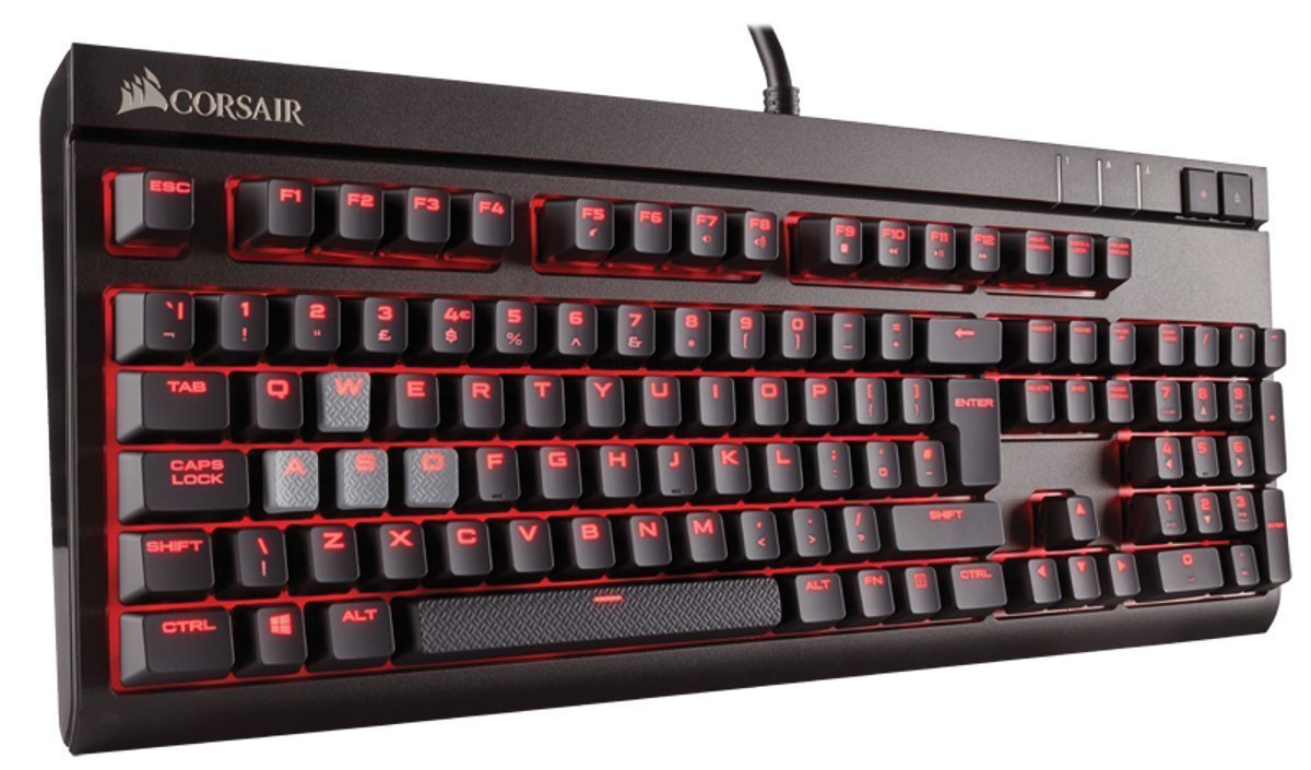 Corsair STRAFE Mechanical Gaming Keyboard (Cherry MX Brown) for PC Games image