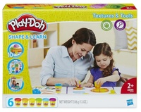 Play-Doh: Shape & Learn Textures And Tools