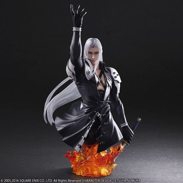 Static Arts Final Fantasy VII Sephiroth Bust