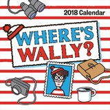 Where's Wally 2018 Square Wall Calendar