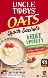Uncle Tobys Oats (Variety Fruit, 420g)