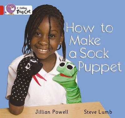 How to Make a Sock Puppet by Jillian Powell