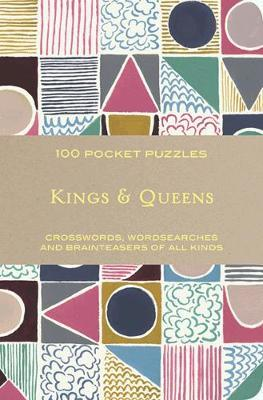 Kings and Queens: 100 Pocket Puzzles by The National Trust image