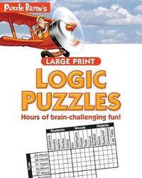 Puzzle Baron's Large Print Logic Puzzles by Puzzle Baron