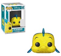 Little Mermaid - Flounder (Glitter Ver.) Pop! Vinyl Figure image