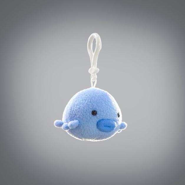 Oddballz: Water Bear - Plush Keychain