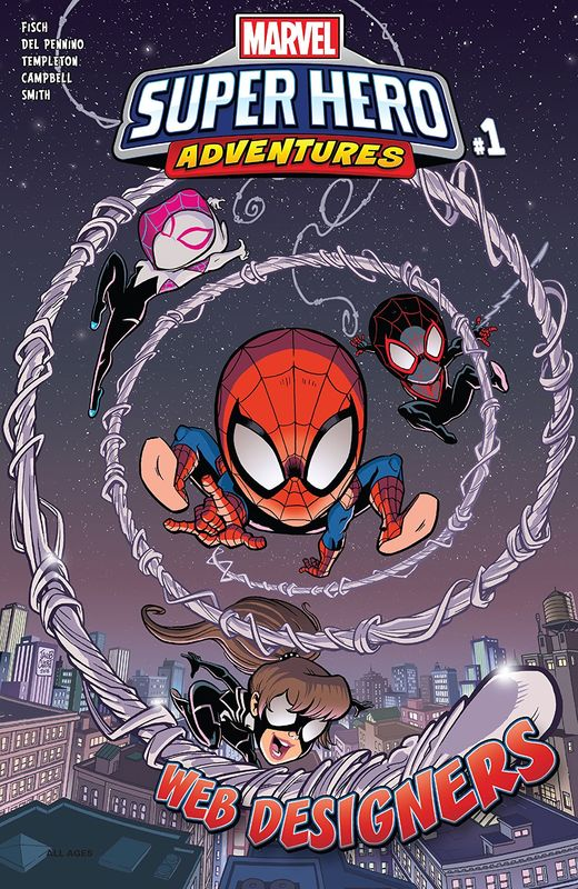 Marvel SHA: Spider-Man – Web Designers #1 by Sholly Fisch