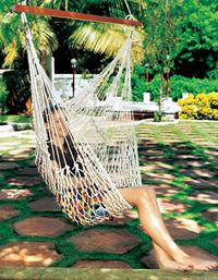 Easy Days: Polyester Rope Hammock - Seat image