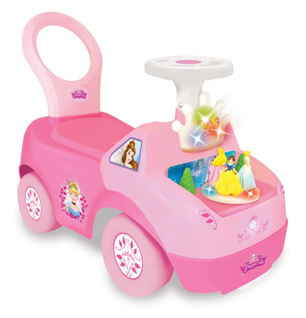 Kiddieland: Lights & Sounds Activity Ride-On - Disney Princess