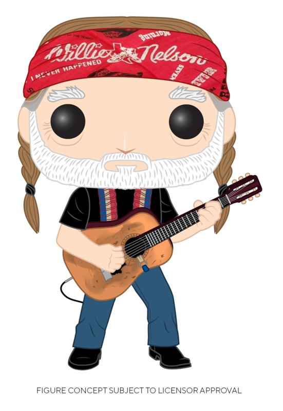Willie Nelson - Pop! Vinyl Figure