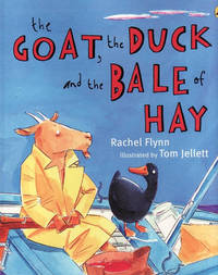 Duck, the Goat and the Bale of Hay by Rachel Flynn image
