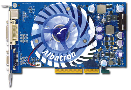ALBATRON 6600GT 128MB DDR AGP