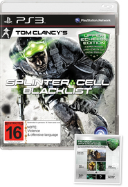 Tom Clancy's Splinter Cell Blacklist Upper Echelon Edition for PS3