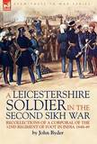 A Leicestershire Soldier in the Second Sikh War by John Ryder