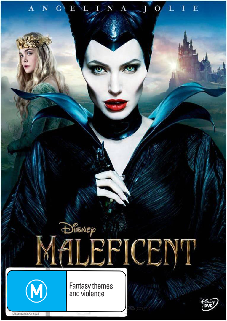 Maleficent on DVD image