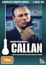 Callan - Complete Season 4 (5 Disc Box Set) on DVD