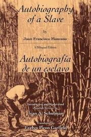 Autobiography of a slave - Autobiografia de un Esclavo by Juan Francisco Manzano image