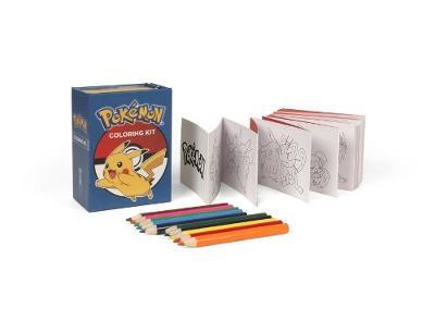 Pokemon Coloring Kit by Running Press