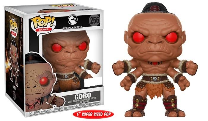 "Mortal Kombat - Goro 6"" Pop! Vinyl Figure image"