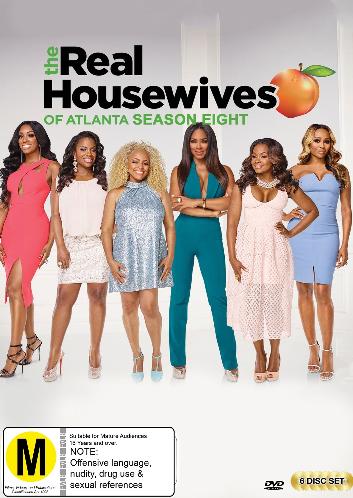 The Real Housewives Of Atlanta: Season Eight on DVD image