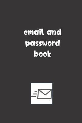 Email and Password Book by Tempus Fugit