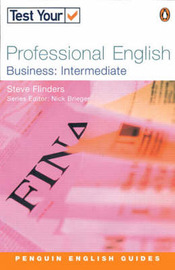 Test Your Professional English: Intermediate by Steven Flinders image