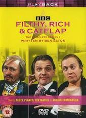 Filthy Rich And Catflap - Series 1 on DVD