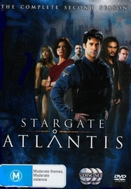 Stargate Atlantis - Complete Season 2 (5 Disc Slimline Set) (New Packaging) on DVD