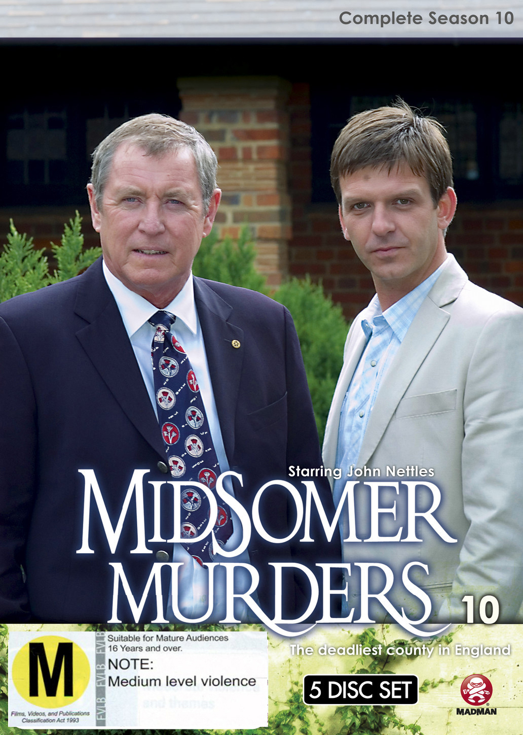 Midsomer Murders - Complete Season 10 (Single Case) on DVD image