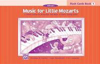 Music for Little Mozarts Flash Cards by Christine H Barden