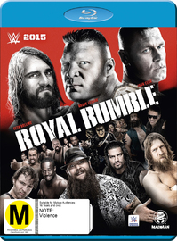 WWE: Royal Rumble 2015 on Blu-ray