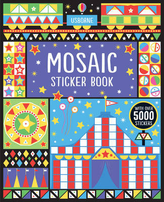 Mosaic Sticker Book by Joanne Kirby