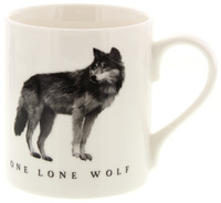 McLaggan Smith: Roderick Field Coffee Mug - One Lone Wolf