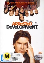 Arrested Development - Season 1 (3 Disc Set) on DVD image