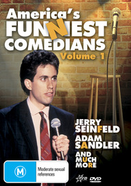 America's Funniest Comedians - Vol. 1 on DVD image