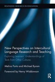 New Perspectives on Intercultural Language Research and Teaching by Melina Porto