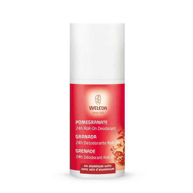 Weleda: 24 Hour Roll-On Deoderant - Pomegranate (50ml)