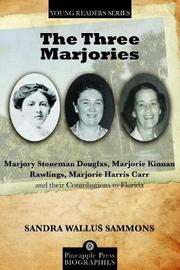 The Three Marjories by Sandra Wallus Sammons image