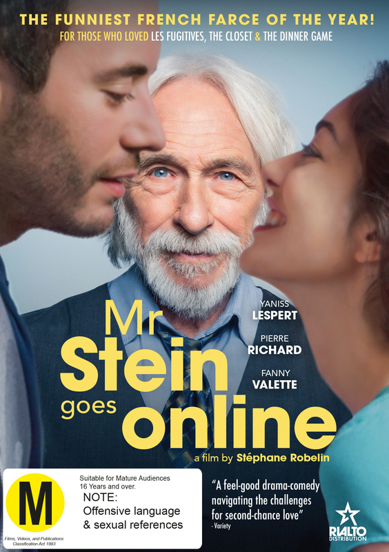 Mr Stein Goes Online on DVD